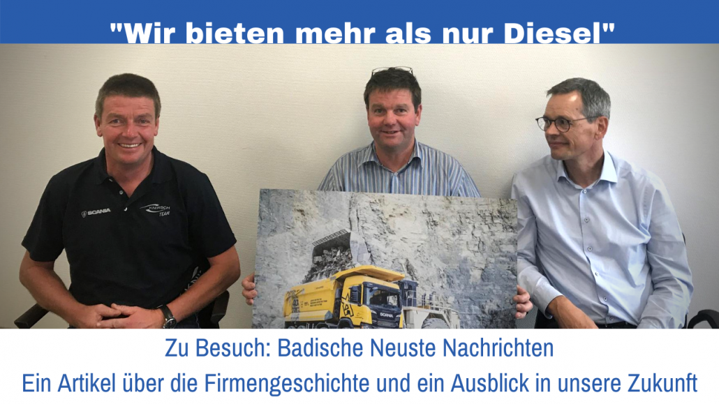 Drei Geschäftsführer Martin Knirsch Kraftfahrzeuge GmbH
